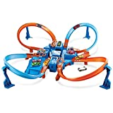 Hot Wheels Criss Cross Crash Track Set