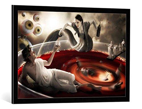 quadro-con-cornice-christophe-kiciak-delirium-tremens-stampa-artistica-decorativa-cornice-di-alta-qu