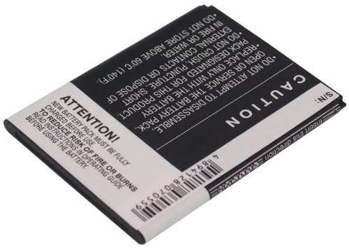 Battery2go Rechargeable Battery 1500mAh For Alcatel OT-990 Carbon, OT-908, OT-903, OT-908M, OT-990M, OT-990 dietrich ot 6