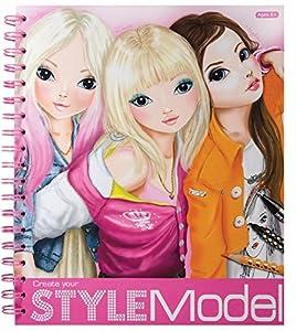 Depesche - Libro Top Model para colorear: Amazon.es