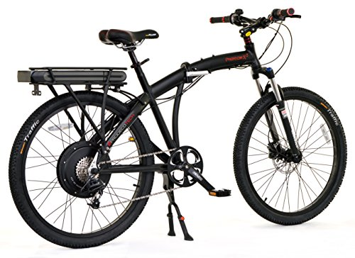 ProdecoTech-Phantom-8-Speed-Electric-Bicycle-11Ah-Samsung-Li-Ion-Matte-Black-18One-Size