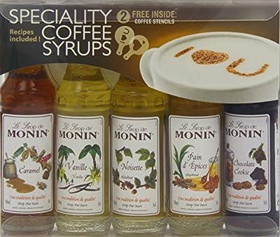 Monin Coffee Syrup Gift Set by Monin