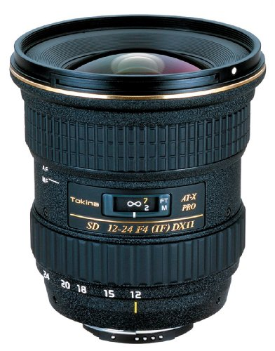 Tokina 超広角ズームレンズ AT-X 124 PRO DX II 12-24mm F4 (IS) ASPHERICAL ニコン用 APS-C対応