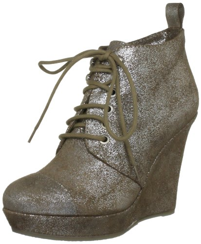 Dancing Queen Tangy - Ankle Y00589PS930H4563 Damen Stiefel Braun Brown Silver 37 EU 4 UK