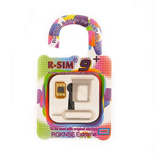 R-SIM9+ iOS8対応Apple iPhone 6 / 6 Plus SIMフリー ( softbank / docomo ) SIMロック解除アダプタ [並行輸入品]