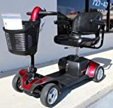 Pride Mobilitty Go-Go Sport 4-wheel Travel Pride Electric Scooter+ Rear Basket