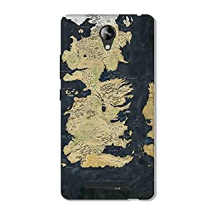 OVERSHADOW DESIGNER PRINTED Back Case for MICROMAX CANVAS 6 PRO