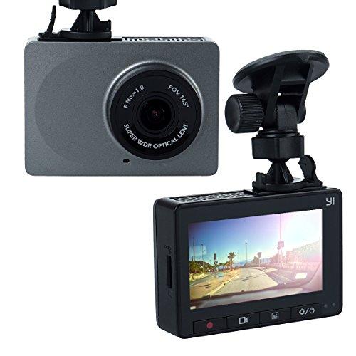 YI Smart Dash Camera Car DVR Night Vision HD 1080P, Gray