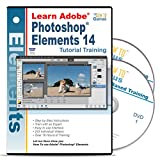 Adobe Photoshop Elements 14 Tutorial Training Software on 2 DVDs 16 Hours 233 Videos