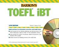 Barron's TOEFL iBT Audio Compact Disc Package
