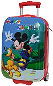 Disney ABS 2 Wheels 55 cm Small Suitcase Hand Luggage Mickey and Pluto