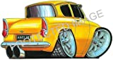 Ford Anglia Car Sticker Decal - Koolart