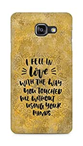 Amez I fell in Love with You Back Cover For Samsung Galaxy A5 2016