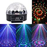 Sinuote® Magic Rotating Ball Effect RGB Stage Light Digital Strobe Disco DJ KTV Party Dance DMX Stage Light