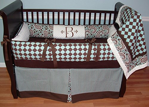 Paisley Crib Bedding Sets 1583 front