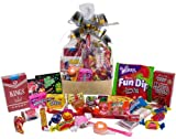 Great Gifts Timeless Treat Basket Bag: Retro Nostalgic Candy