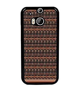 PrintDhaba Pattern D-1714 Back Case Cover for HTC ONE M8s (Multi-Coloured)
