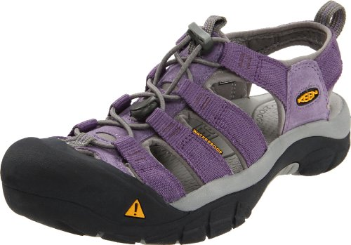 KEEN Women's Newport H2 Water Shoe,Neutral Grey/Purple Sage,6.5 M US