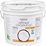 Nutiva Refined Coconut Oil - Gallon (Tamaño: Gallon)