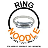 RING NOODLE (SET OF 3 - 1-narrow, 1-medium, 1-wide) - Ring Size Reducer, Ring Guard, Ring Size Adjuster