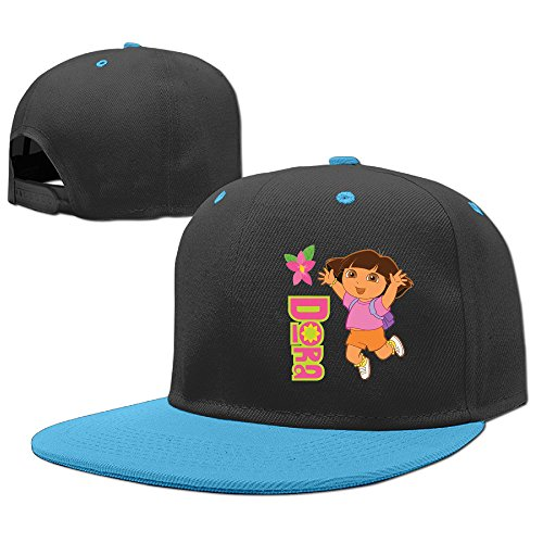 [NCKG Dora The Explorer Fans Infant Toddler Cap Hats Meshback, RoyalBlue] (Blues Clues Costumes Toddler)
