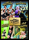 The Marx Brothers Collection - A Girl In Every Port/The Cocoanuts/Room Service/Love Happy [DVD]