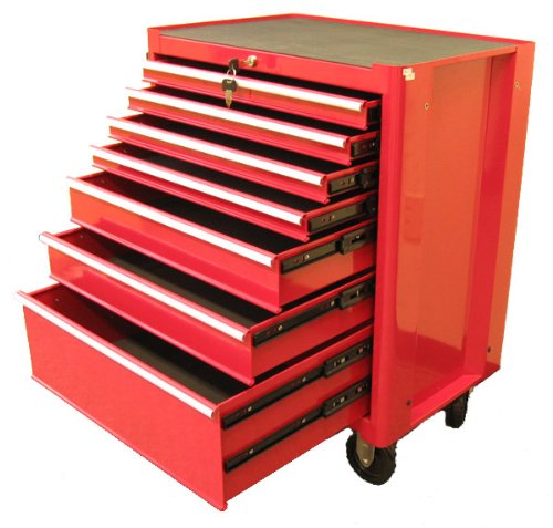Images for Excel TB2050BBSB-Red 27-Inch Steel Roller Cabinet, Red