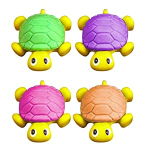 Turtle - Shaped 3D Buildable Novelty Rubber / Eraser (one supplied)