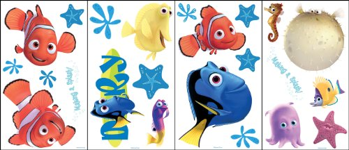 Blue Mountain Wallcoverings GAPP1763 Finding Nemo Self-Stick Room Appliqués - 1