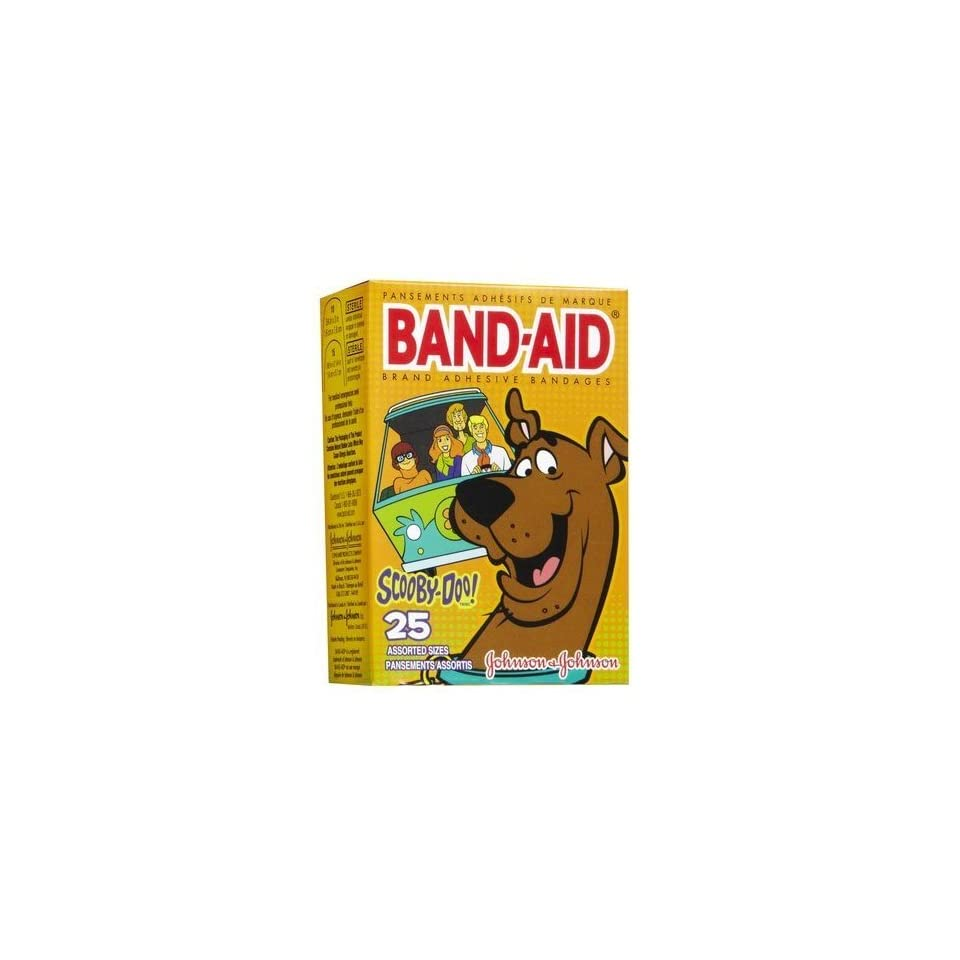 Band Aid Scooby Doo Bandages 25ct