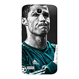 The Awesome Calm Soccer Star Back Case Cover for Honor Holly