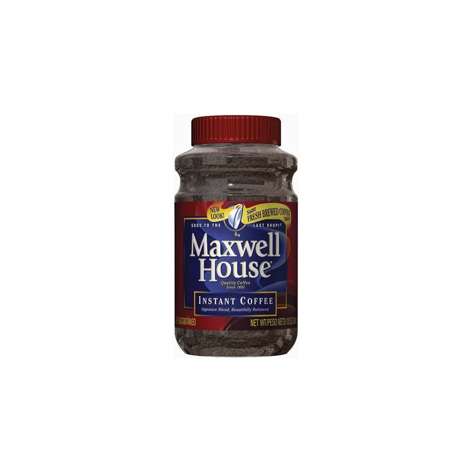 Maxwell House Instant Coffee 12oz On Popscreen
