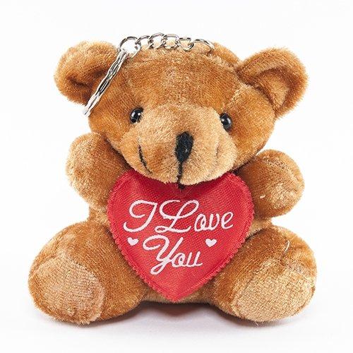 Brown Bear Key Chain - 12 per order