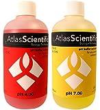 Atlas Scientific pH Calibration Solution Kit 4.0 & 7.0 - 4 Oz Bottles