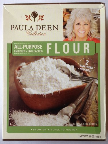 PAULA DEEN All-Purpose Enriched Unbleached FLOUR 32 oz.