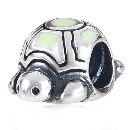 Tortoise Sea Turtle Charms 925 Sterling Silver Bead Fits Pandora Bracelet (A)