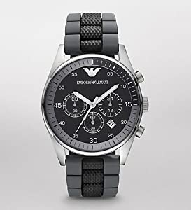 Emporio Armani Men's AR5866 Black Chronograph Dial Watch