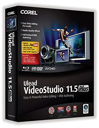 Corel Ulead VideoStudio 11.5 Plus [OLD VERSION]
