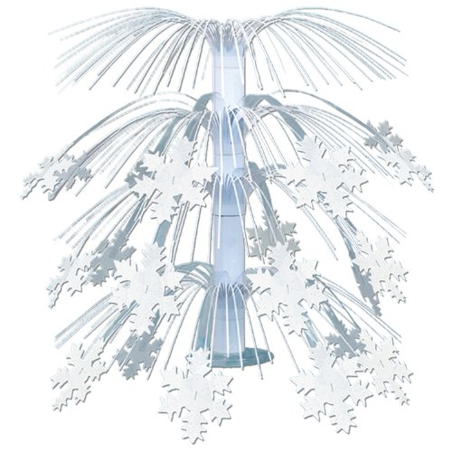 Snowflake Cascade Centerpiece Party Accessory (1 count) (1/Pkg) - 1