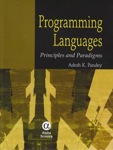 Programming Language: Principles and Paradigms