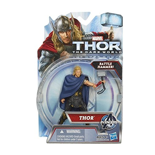 Thor The Dark World Action Figure Thor [Battle Hammer!] - 1