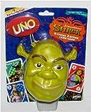 Original Shrek Special Edition UNO Card Game Set in Collectible SHREK Case!