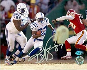 Reggie Wayne autographed 8x10 Photo (Indianapolis Colts) Image #2 by Autograph Warehouse