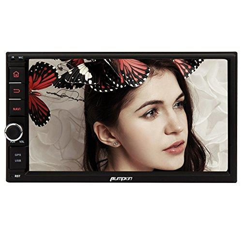 Pumpkin18ヶ月保証7インチ Android 4.4 クアッドコア 1.6GHz タッチパネル カーナビ カーオーディオ GPS 1024x600 Bluetooth Wifi OBD2対応