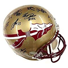2012 Florida State Seminoles Team Signed Full Size Helmet Psa dna Authenticated