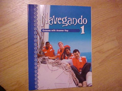 Navegando 1 Quizzes with Answer Key