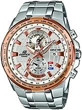 Comprar Casio EFR-550D-7AVUEF - Reloj de pulsera hombre, Acero inoxidable, color Plateado