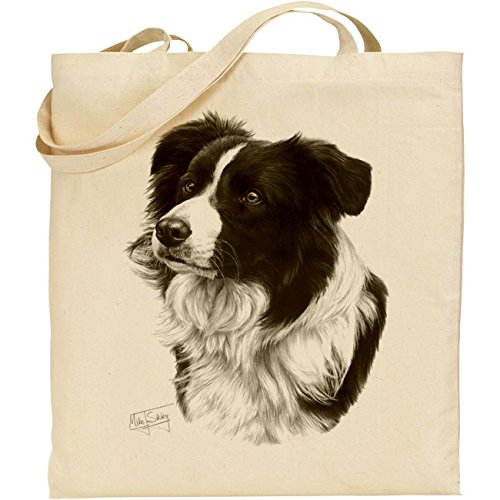 mike-sibley-borsa-in-cotone-motivo-border-collie-colore-naturale