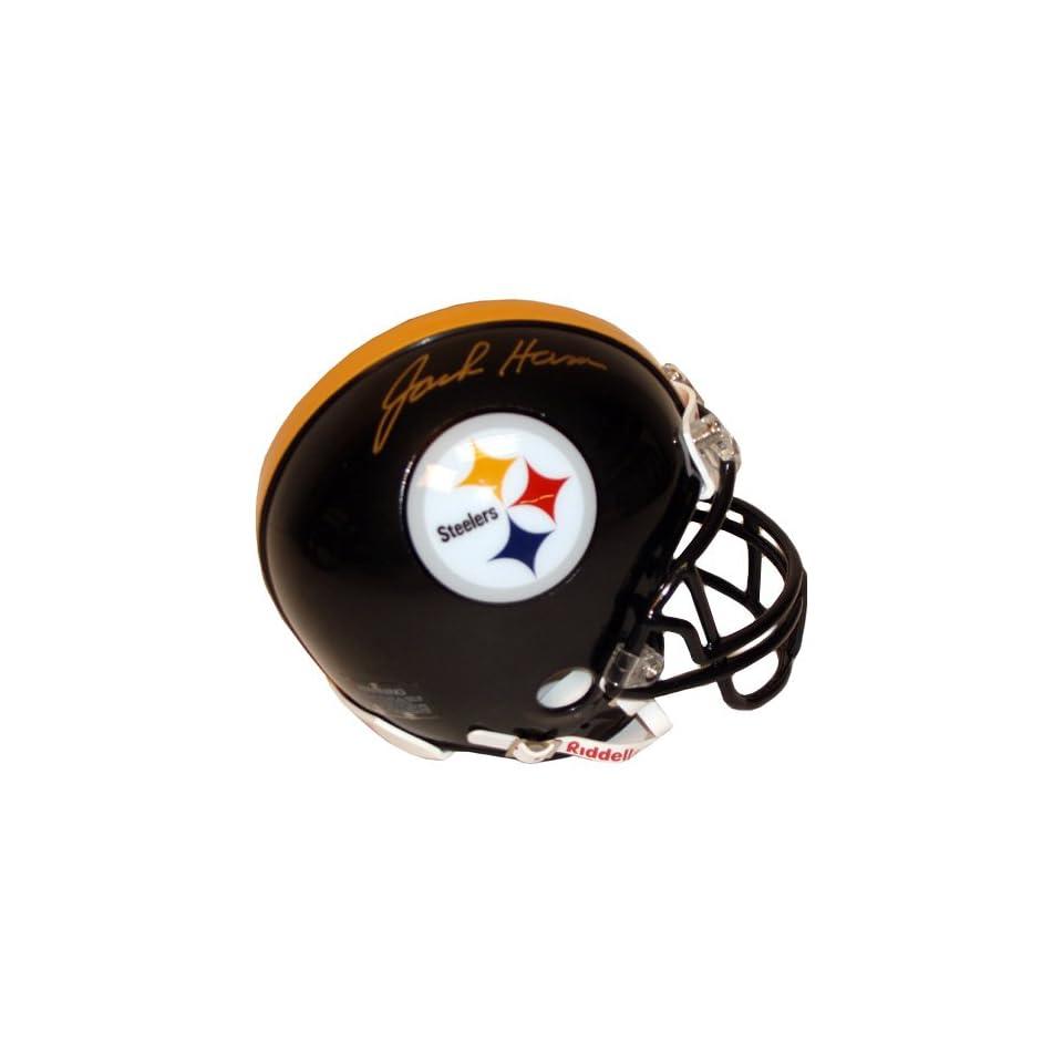 Jack Ham Signed Pittsburgh Steelers Mini Helmet