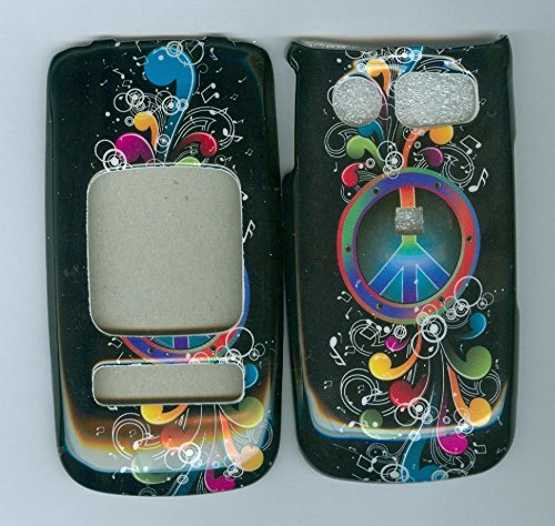 Music Peace Flower Pantech Breeze Ii 2 P2000 At&t Phone Cover [Wireless Phone Accessory] (Pantech Breeze P2000 compare prices)
